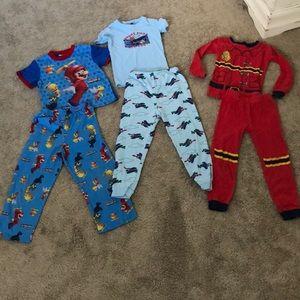Boys pajama bundle